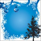 Christmas,Christmas Tree,Tree,Black Color,Christmas Ornament,Blue,Snowflake,Snow,Frame,Christmas Decoration,White,Ice,Holiday,Cool,Greeting,Computer Graphic,Typing,Ice Crystal,Copy Space,Sparse,snow tree,Style,Cold - Termperature,Concepts And Ideas,Illustrations And Vector Art,Time,Ilustration