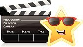 Celebrities,Film Industry,Star Shape,Movie,Film,Movie Theater,Industry,Actor,Camera - Photographic Equipment,Clapboard,Sunglasses,Arts And Entertainment,Producer,Arts Symbols,Cinema,Filming,Fame,Film Slate,Director