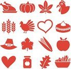 Thanksgiving,Symbol,Turkey - Bird,Turkey,Heart Shape,Apple - Fruit,Whole Wheat,Pumpkin,Corn - Crop,Wheat,Small,Cereal Plant,Corn,Seal - Stamp,Thanksgiving,Holiday Symbols,Vector Icons,Holidays And Celebrations,Nature Colors,Celebration,Nature,Leaf,Illustrations And Vector Art