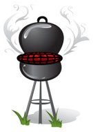Barbecue Grill,Smoke - Physical Structure,Vector,Picnic,Kitchen Equipment,Fire - Natural Phenomenon,Food And Drink,Heat - Temperature,Ilustration,Cooking,Camping
