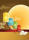 Mid-autumn Festival,Chinese Ethnicity,China - East Asia,Chinese Culture,Lantern,Vector,East Asian Culture,Asian Ethnicity,Computer Graphic,Mid Autumn Festival,Asian and Indian Ethnicities,Clip Art,Traditional Festival,Cloudscape,Asia,Design,Celebration Event,Traditional Chinese,Cloud - Sky,Full Moon,Ancient,Pattern,The Past
