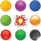 Seal - Stamp,Exploding,Seal - Animal,Star Shape,Label,Badge,Gold Colored,Push Button,Sale,Interface Icons,Price,Banner,Insignia,Shiny,Symbol,Computer Icon,Button,Cartoon,Icon Set,Multi Colored,Clip Art,Design Element,Vector,Set,Vector Icons,Quality Control,Illustrations And Vector Art,Ilustration