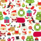 Christmas,Wallpaper Pattern,Seamless,Decoration,Santa Claus,Backgrounds,Pattern,Christmas Stocking,Characters,Christmas Pudding,Cartoon,Reindeer,Christmas Tree,Candy Cane,Cute,Lollipop,Holiday Backgrounds,Penguin,Christmas,Mistletoe,Gift,christmas wreath,Christmas Ornament,Snowman,Holidays And Celebrations,Fun,Holiday