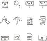 Drawing - Art Product,Sketch,Home Interior,Plan,House,Symbol,Key,Real Estate,Icon Set,Magnifying Glass,Residential Structure,Umbrella,Cartoon,Doodle,Currency,Security System,Security,Loan,Newspaper,Mortgage Document,Residential District,Construction Industry,Sign,Moving House,Blueprint,Charcoal Drawing,Photograph,Real Estate Sign,Contract,Building Exterior,Building - Activity,Mortgage,Sale,Selling,Built Structure,Sold,hand drawn,Design Element,Truck,vector illustration,Credit Card,Price,Delivering,Buying,Advertisement,Loupe,Document,Apartment,Label,Discovery,Life,Searching,Vector,Calculating,Buy,Graphite Pencil