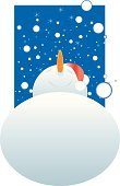 Snowman,Christmas,Party - Social Event,Snow,Celebration,Blue,Carrot,Winter,Fun,Holiday,Season,flakes,Hope,White,Funky,Objects/Equipment,Parties,Holidays And Celebrations,Time,Anticipation,Town Of Hope - British Columbia,Hat,Concepts And Ideas