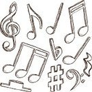 Musical Note,Music,Doodle,Drawing - Art Product,Treble Clef,Symbol,Abstract,Computer Graphic,Scribble,Art,Incomplete,Illustrations And Vector Art,Music,Three-dimensional Shape,Curve,Three Dimensional,Vector,Concepts,Part Of,Decoration,Design,Style,Sketch,Composition,Sound,Shape,Arts And Entertainment,Ilustration,Creativity,Sign