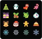Christmas,Symbol,Santa Claus,Computer Icon,Religious Icon,Icon Set,Christmas Tree,Snowman,Snowflake,Cookie,Snow,Holiday,Vector,Christmas Ornament,Winter,Christmas Decoration,Gift,Computer Graphic,Candy,Design Element,Deer,Gift Box,Set,Christmas Stocking,Box - Container,Ilustration,Internet,Bell,Decoration,Candy Cane,christmas icon,Celebration,Color Image,Twig,Colors,toolbar,Christmas,web icon,Holidays And Celebrations
