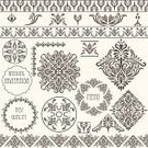 Silk,Wedding,Frame,Lace - Textile,Pattern,Retro Revival,Old-fashioned,Arabic Style,Flower,Backgrounds,Design Element,filigree,Decoration,Menu,Seamless,Nobility,Floral Pattern,Invitation,Ornate,Curve,Antique,Vector,Victorian Style,Leaf,Arts And Entertainment,Design,Concepts And Ideas,Rococo Style,Nature,Swirl,Illustrations And Vector Art,Decor,Napkin,Plant,Repetition