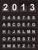 Countdown,Checkout,Number,Clock,Airport,Graph,Control Panel,Panel,Scoreboard,Arrival Departure Board,Alphabet,Vector,2013,Boarding,New Year,Sign,Typescript,Mechanic,Retro Revival,Old-fashioned,Time,Text,Dialing,Dial,Symbol,Clock Hand,Chart,1940-1980 Retro-Styled Imagery,Billboard,Counting,Style,Computer Icon,Black Color,Data,Message,Ilustration,Backgrounds,Old,Moving Down,Single Object,Clock Face,Equipment,Characters,Alarm,Beat The Clock,Alarm Clock,Reminder,Shiny,Design Element,Information Medium,typographic