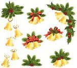 Christmas Decoration,Chinese Lantern Lily,Christmas,Holly,Christmas Ornament,Decoration,Holiday,Cultures,Bell,Evergreen Tree,Vector,Decor,December,Holidays And Celebrations,Christmas,Design,Season,Celebration,Backgrounds,Happiness,Arts And Entertainment