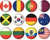 Malaysia,Computer Icon,Circle,Australia,Vector,Symbol,Lithuania,National Flag,Flag,Shadow,Colombia,Canada,Portugal,Bulgaria,Sphere,Illustrations And Vector Art,Badge,Romania,Travel Locations,Design Element,Set,Internet,Ilustration,Isolated,Interface Icons,Vector Icons,Concepts And Ideas,Striped,Design,Jamaica,Collection,South Korea,Insignia,Banner,Germany,Qatar