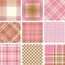 Tartan,Pink Color,Plaid,Checked,Backgrounds,Backdrop,Striped,Textured Effect,Decoration,Vector,Fashion,Textile,Textured,Celtic Culture,Ilustration,Arts And Entertainment,Design,Set,Vector Backgrounds,Manufacturing,Cultures,Scottish Culture,British Culture,Pattern,Irish Culture,Color Image,Symmetry,Abstract,Fiber,Arts Backgrounds,Classic,White,Brown,Illustrations And Vector Art,Industry,Decor,English Culture,Colors,Material,Geometric Shape