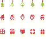 Christmas Present,Computer Icon,Symbol,Box - Container,Crate,Icon Set,Holiday,Vacations,Gift Box,Gift,Santa Claus,Christmas Tree,Black And White,Simplicity,Package,Senior Adult,Red,Beard,Christmas Icons,Digitally Generated Image,Celebration,Tree,Care,Christmas Decoration,Christmas,Santa Hat,Star - Space,Star Shape,White Background,Ribbon,Interface Icons