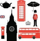 London - England,UK,Symbol,Mailbox,Double-Decker Bus,Beefeater,British Culture,Vector,Silhouette,Army Soldier,Crown,Big Ben,Stencil,Mail,Red,Bus,Buckingham,On The Phone,Pattern,Teapot,Ilustration,Old-fashioned,Box - Container,Travel Destinations,Isolated,Cup,Umbrella,Design,Cultures,Monuments,Travel Locations,Land Vehicle,Tourism,Telephone,Landmarks,Flag,Patriotism,Architecture And Buildings,Illustrations And Vector Art