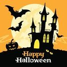 Halloween,Cheerful,Invitation,Full Moon,Backgrounds,Pumpkin,Child,Autumn,Fog,Black Color,Spooky,Greeting,Pattern,Flying,Ilustration,Wallpaper,Illustrations And Vector Art,Cultures,Gift,Tree,Symbol,Decor,Holiday Backgrounds,Congratulating,Vector,Cemetery,Halloween,Death,Evil,Holidays And Celebrations,Modern Rock