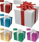 Gift Box,Gift,Bow,Box - Container,Holiday,Red,Gold Colored,Gold,Christmas,Blue,Wrapping Paper,Ilustration,Birthday,Vector,Ribbon,Image,Package,Star Shape,Holidays And Celebrations,Variation,Shiny,Color Image,Celebration,Yellow,Isolated On White,Design,Group of Objects,Shape,Decoration,Vibrant Color,Colors,Green Color,Christmas,Holiday Symbols,Isolated,Birthdays,Bright