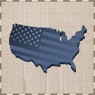 Patriotism,Symbol,Direction,continent,USA,The Americas,Flag,Map,Cartography,Steampunk,Travel,Beige,American Flag,Copy Space,Nature,Retro Revival,1940-1980 Retro-Styled Imagery,Cardboard,Document,homeland,Illustrations And Vector Art,Travel Locations,Land,North America,Blue,Paper,Grid,Cultures,Brown