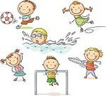 Child,Sport,Childhood,Swimming,Cartoon,Healthy Lifestyle,Little Girls,Playing,Drawing - Art Product,Sketch,Gymnastics,Little Boys,Soccer,Exercising,Recreational Pursuit,Set,Skating,Sports Training,Child's Drawing,Vector,Physical Education,Plastic Hoop,Ilustration,Preschooler,Small,Line Art,Action,Cute,Morning Exercise,Leisure Activity,Happiness,Isolated