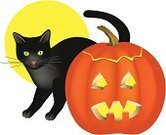 Domestic Cat,Halloween,Black Color,Pumpkin,DNA,jack-o-lantern,Season,Holidays And Celebrations,Cats,Halloween,Animals And Pets,Holiday,Carving - Craft Product,Autumn,Food And Drink