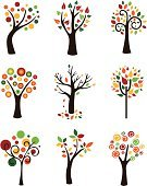 Tree,Branch,Growth,Autumn,Leaf,Single Object,Woodland,Formal Garden,Season,Ornamental Garden,Ilustration,Grass,Forest,Environment,Vector,Abstract,Illustrations And Vector Art,Biology,Land,Nature Symbols/Metaphors,Plant,Nature,Painted Image,Image,Agriculture,Landscape,Recycling,Tree Trunk,Organic,Bush,Decoration,Nature,Vector Icons,Lawn,Environmental Conservation,Greeting Card,Floral Pattern,Meadow,Botany,Flower,Fall,Green Color,Earth,Stem