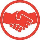 Handshake,Symbol,Sign,Human Hand,Ilustration,Red,Business Symbols/Metaphors,People,Business,People,Business