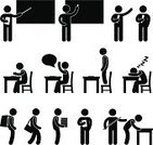 Symbol,Student,Teacher,Desk,Classroom,Silhouette,Education,Men,People,Blackboard,Picking Up,Human Hand,Table,Child,Document,Sleeping,School Building,Book,Seat,Reading,Learning,Embarrassment,Standing,Chalk - Art Equipment,Carrying,Report,Vector,Punishment,Laziness,Studying,Chair,Black Color,Education Building,Concentration,University,Buttocks,Bag,Domestic Room,Writing