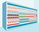 Shelf,Store,Supermarket,Dairy Product,Indoors,Vector,No People,Bottle,Equipment,Marketing,Packing,Milk,Retail,Milk Bottle,Ingredient,Food,Ilustration,Eating,Cottage Cheese,regiments,Drink,Customer,Cream,Market,Full,Package,Choice,Dairy Products,Variation,Vibrant Color,Sour Cream,Food And Drink,Illustrations And Vector Art,Horizontal,Meal,Yogurt,Buy