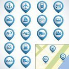 Symbol,Computer Icon,Nautical Vessel,Cartography,Train,Airplane,Three Dimensional,Car,Sign,Taxi,Cable Car,Motorcycle,Transportation,Travel,Vector,Ilustration,Truck,Transportation,Ship,Air,Collection,Set,Design Element,Bicycle,Illustrations And Vector Art,Vector Icons,Industrial Ship,Helicopter,Refueling,Blue,Abstract