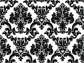 Black And White,Backgrounds,Flower,Wallpaper Pattern,Swirl,Floral Pattern,Pattern,Ornate,Victorian Style,Silhouette,Scroll Shape,Seamless,Branch,Elegance,Black Color,Curve,Classical Style,Plant,Leaf,Modern,Shape,Retro Revival,Illustrations And Vector Art,Renaissance,Repetition,Decoration,Vector Ornaments,Ilustration,Old-fashioned,Vector Backgrounds,Curled Up,Backdrop,Vector,Art