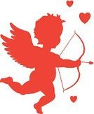 Cupid,Back Lit,Silhouette,Red,Angel,Vector,Valentine Card,Valentine's Day - Holiday,Bow,Ilustration,Desire,Love,Baby,Arrow,Heart Shape,Seduction,Isolated-Background Objects,Holidays And Celebrations,Isolated On White,Symbol,Engagement,Married,Love At First Sight,Cartoon,Cherub,Honeymoon,Overweight,Wedding,Valentine's Day,Isolated Objects,Concepts And Ideas,Wing