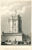 Old-fashioned,Engraved Image,Ilustration,Antique,Paris - France,Castle,vincennes,Capital Cities,European Culture,19th Century Style,Image Created 19th Century,Building Exterior,Surrounding Wall,France,Illustrations And Vector Art,Travel Locations,Tower,Architecture And Buildings,Famous Place,Central Europe,French Culture,Fortified Wall,Cultures,Old,Architecture,Europe,Built Structure,Fort,The Past,History,Turret,Art And Craft,Victorian Style,Styles,Art