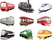 Train,Bullet Train,Steam Train,Ilustration,Back Lit,Passenger Train,Public Transportation,Transportation,Mode of Transport,Vector,Railway,Focus on Shadow,Railroad Track,Black Color,Illustrations And Vector Art,Set Collection,Transportation,Design,Isolated,Slow Train,Design Element,Vector Cartoons,Coal Train,Railroad Car,fast train,Computer Icon,Travel Locations,Shadow,Isolated On White,Colors,Color Image