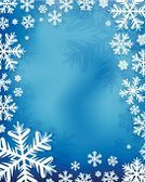 Snowflake,Frame,Blue,Backgrounds,Winter,Snow,Pattern,Vertical,Crystal,Silhouette,White,Elegance,Season,Ice,Decoration,Frost,Design