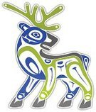 Inuit,Art,Indigenous Culture,Haida,Deer,Native American,North American Tribal Culture,Cultures,Vector,Community,Digital Display,Sparse,Symbol,Digitally Generated Image,Ilustration,Modern,Animal,Style,Nature,Shape,Computer Graphic,Mask,Abstract