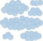 Cloud - Sky,Drawing - Art Product,Pattern,Drawing - Activity,Computer Graphic,Human Hand,Spiral,Circle,Sky,Shape,Ilustration,Design,Design Element,Illustrations And Vector Art,Decoration,Art Product,Vector,Abstract,Art,Blue