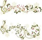 Sheet Music,Music,Christmas,Musical Note,Holiday,Frame,Holly,Berry Fruit,Swirl,Winter,Snowflake,Cultures,Symbol,Design Element,Computer Key,Gift,Greeting Card,Christmas Decoration,Celebration,Leaf,Key,Set,Single Object,Color Image,Evergreen Tree,Ilustration,Computer Graphic,Decoration,Isolated,Design,Image,Christmas Ornament,Greeting,Plant,Decor,Vector