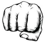Fist,Punching,Woodcut,Men,Impact,Fighting,Conflict,Vector,Computer Graphic,Hitting,Black Color,Power,Human Hand,Single Line,Knuckle,Old-fashioned,Drawing - Art Product,Retro Revival,White,People,Front View,Concepts,Style,Ilustration,Concepts And Ideas,Clip Art,Violence,right,People,Moving Toward,Illustrations And Vector Art,Design,Print