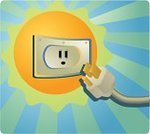 Solar Power Station,Outlet,Electric Plug,Sun,Network Connection Plug,Power,Electricity,Sunlight,Natural Gas,electircal,Green Color,Ilustration,Power Supply,Pollution,Nature,Energy,Environment,Fumes,Technology,energysaving,Industry,Gasoline,Power,Concepts And Ideas,Clean,Heat - Temperature,Vector,Photographic Effects,Fuel and Power Generation,Nature