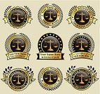 Lawyer,Legal System,Justice - Concept,Sign,Badge,Gold Colored,US Supreme Court,Gold,Supreme Court,Banner,District Attorney,Placard,US Constitution,Law,Insignia,Legalization,Bail,law office,Set,Circle,Interface Icons,Ilustration,Justice System,Legal Defense,Floral Pattern,Digitally Generated Image,Courthouse,Collection,Legal Proceeding,Vector,Star Shape,Advertisement,Curve,Black Color,Design,Blank,Law Firm,Ribbon,justice scale,Telephone Number,1-800,Legislation,Prosecutor,Group of Objects,Watermark,Marketing
