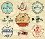 Badge,Label,Old-fashioned,Retro Revival,Vector,Paper,Design Element,Decoration,Food And Drink,Illustrations And Vector Art,Drinks,Business,Symbol,Ilustration,Frame,Textured Effect