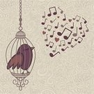 Music,Heart Shape,Musical Note,Cartoon,Birdcage,Old-fashioned,Springtime,Cute,Backgrounds,Singing,Summer,Valentine Card,Valentine's Day - Holiday,Pattern,Vector,Dreamlike,Wing,Computer Graphic,Decor,Shape,Nature,Beauty,Design,Beautiful,Ilustration,Day,Sitting,Blue,Holidays And Celebrations,Bird,Part Of,1940-1980 Retro-Styled Imagery,Sleeping,Decoration,Greeting Card,Romance,Animal,Creativity,Valentine's Day,Greeting,Love,Illustrations And Vector Art,Style,Ornate,Color Image