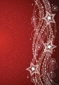 Christmas,Backgrounds,Swirl,Star - Space,Star Shape,Red,Abstract,Backdrop,New Year's Eve,Celebration,Christmas Decoration,Winter,Scroll Shape,Christmas Ornament,Pattern,Snowflake,Star Dust,Decoration,Computer Graphic,shinning,Vector,New Year's Day,Season,Copy Space,Ilustration,Style,Design Element,Wave Pattern,Star Burst,Vertical