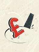 Stealing,Pound Symbol,Burglary,Finance,Natural Disaster,UK,Business,Thief,Recession,Grunge,Symbol,Textured Effect,Risk,Ilustration,Failure,Concepts,Savings,Insurance,Banking,No People,Greed,Investment,Currency Market,Business Symbols/Metaphors,Concepts And Ideas,Business Concepts,Wealth,Security,Hole,Currency Symbol,Consumerism,Vector,British Currency,Worried,speculator,Silk Screen,Sawing,Credit Crunch,Print,Business,Economic Depression,Home Finances