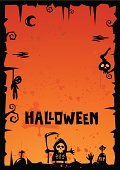 Halloween,template,Illustrations And Vector Art,Holidays And Celebrations,Halloween,Holiday Backgrounds,October,Mystery,Moonlight,Evil,Pumpkin,Ugliness,Night