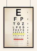 Eye Chart,Human Eye,Eyesight,Optometrist,Healthcare And Medicine,Medical Exam,Examining,Chart,Medical Test,Ilustration,Illustrations And Vector Art,Medicine And Science,Optometry,Isolated,Letter,Optical Instrument,Computer Graphic,Black Color