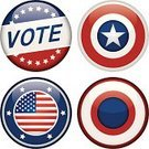 Campaign Button,Election,Button,Interface Icons,Brooch,Politics,USA,Voting,Symbol,Computer Icon,Badge,Government,American Culture,Sign,Illustrations And Vector Art,Vector Icons,Ilustration,Vector,Star Shape
