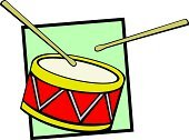 Drum,Drumstick,Musical Instrument,Vector,Percussion Instrument,Music,Hitting,No People,Sound,Frame,Ilustration,Three Objects,Concepts And Ideas,Multi Colored,Arts And Entertainment,Tom Tom,Illustrations And Vector Art,Music,Symbol,Wood - Material,Red,Yellow