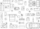 Plan,Furniture,Architect,Plant,Car,Ilustration,Outline,Domestic Kitchen,Sofa,Home Interior,Home Showcase Interior,Crib,Appliance,Design,Cabinet,Table,Domestic Bathroom,Living Room,Chair,Home Improvement,Bicycle,Pillow,Computer,Toilet,Sink,Faucet,Television Set,Blanket,Bed,Outdoor Chair,Piano,Seat,diner table,Elegance,Stool,Bathtub,Computer Printer,Bedroom,Crockery,Home Trainer,Washing Machine,Armchair,Electric Lamp,Carpet - Decor,Book