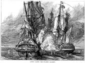Engraved Image,Battle,Navy,Conflict,Spanish Culture,Galleon,Ilustration,Old-fashioned,History,broadside,War,Styles,Galley,Shooting,Military Ship,Illustrations And Vector Art,Sailing Ship,British Military,European Culture,Battleship,Spanish Military,Print,Ship Of The Line,Armed Forces,Seven Years War,Ship,Old,Cultures,Black And White,The Past,Military,Royal Navy,Warship,Mode of Transport,Concepts And Ideas,Historical Ship,Antique,Nautical Vessel,Hms Centurion,Historical War Event,Transportation,Woodcut