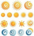 Sun,Symbol,Computer Icon,Sign,Sunrise - Dawn,Set,Vector,Swirl,Sea,Summer,Isolated,Vector Icons,Summer,Illustrations And Vector Art,Nature,Isolated Objects